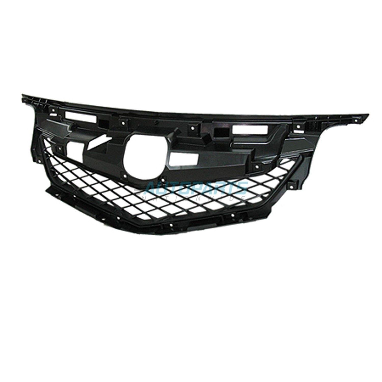New Front Grille Frame Matte-black Fits 2009-2011 Acura Tl