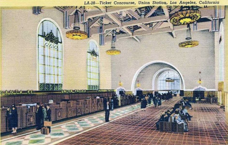 Los Angeles Union Station Union Station Los Angeles Los Angeles Map