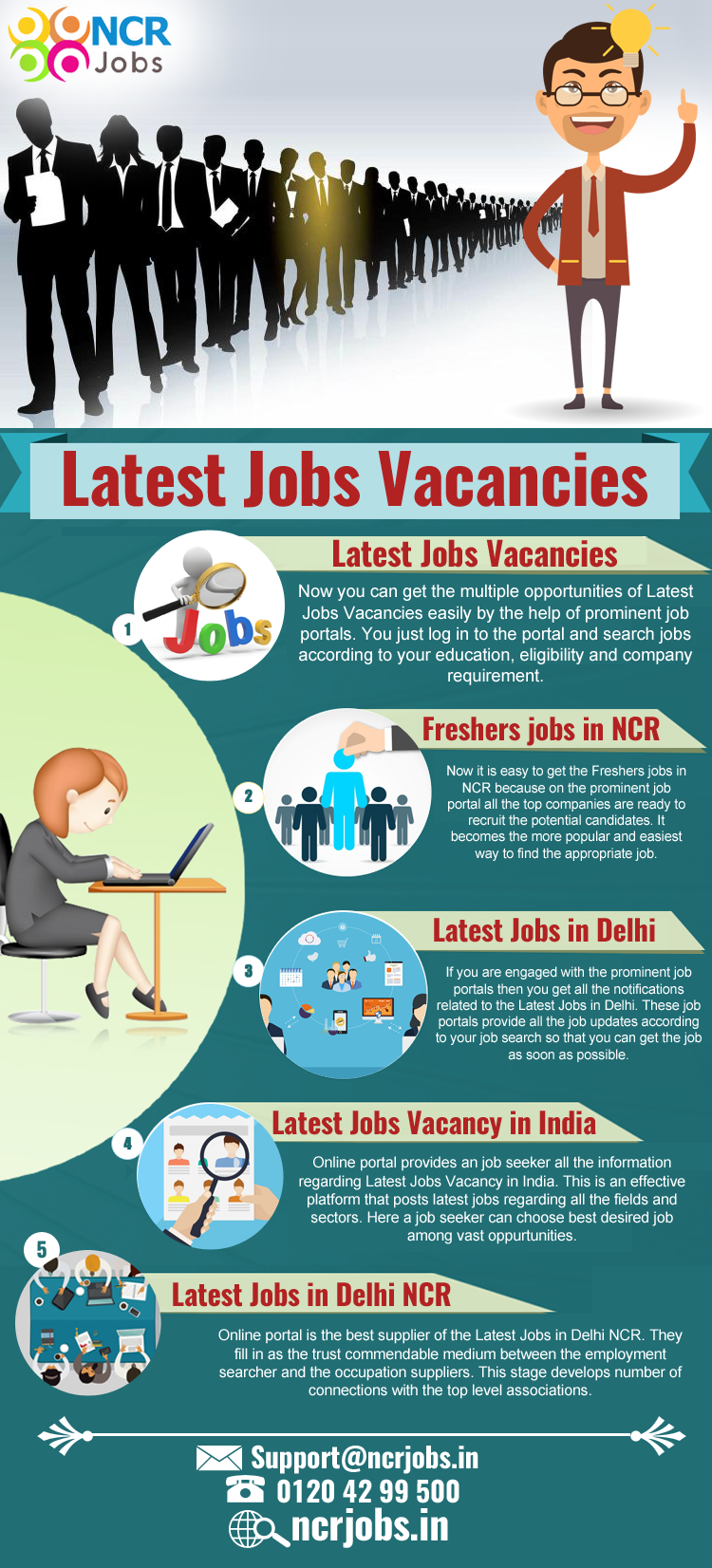 Now the jobs are available without any struggle because the online job portal provides the information about the latestjobsvacancies if you are l