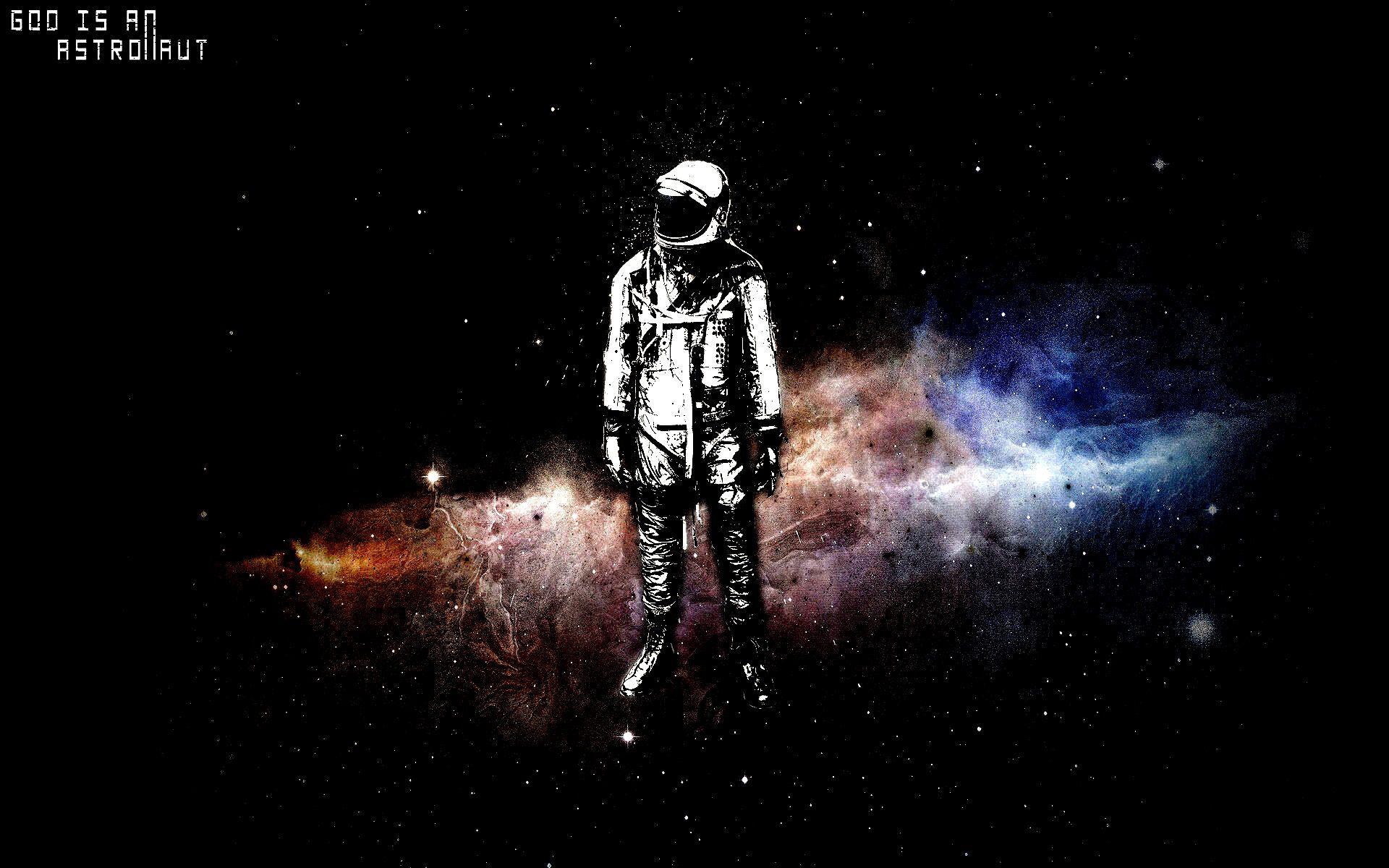 Astronaut graffiti nebula ESPAÇO SIDERAL OUTER SPACE