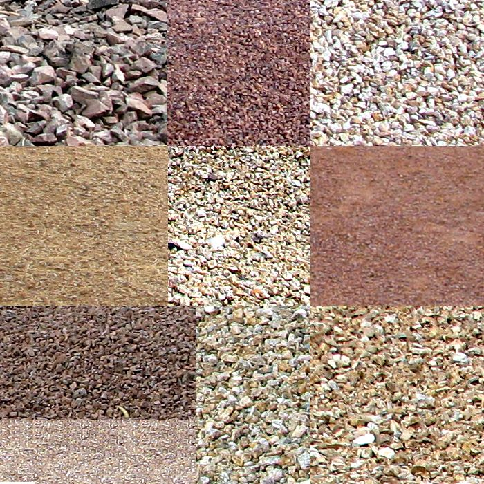 Easy landscaping ideas for small front yard 700x700 in for Different color rocks for landscaping