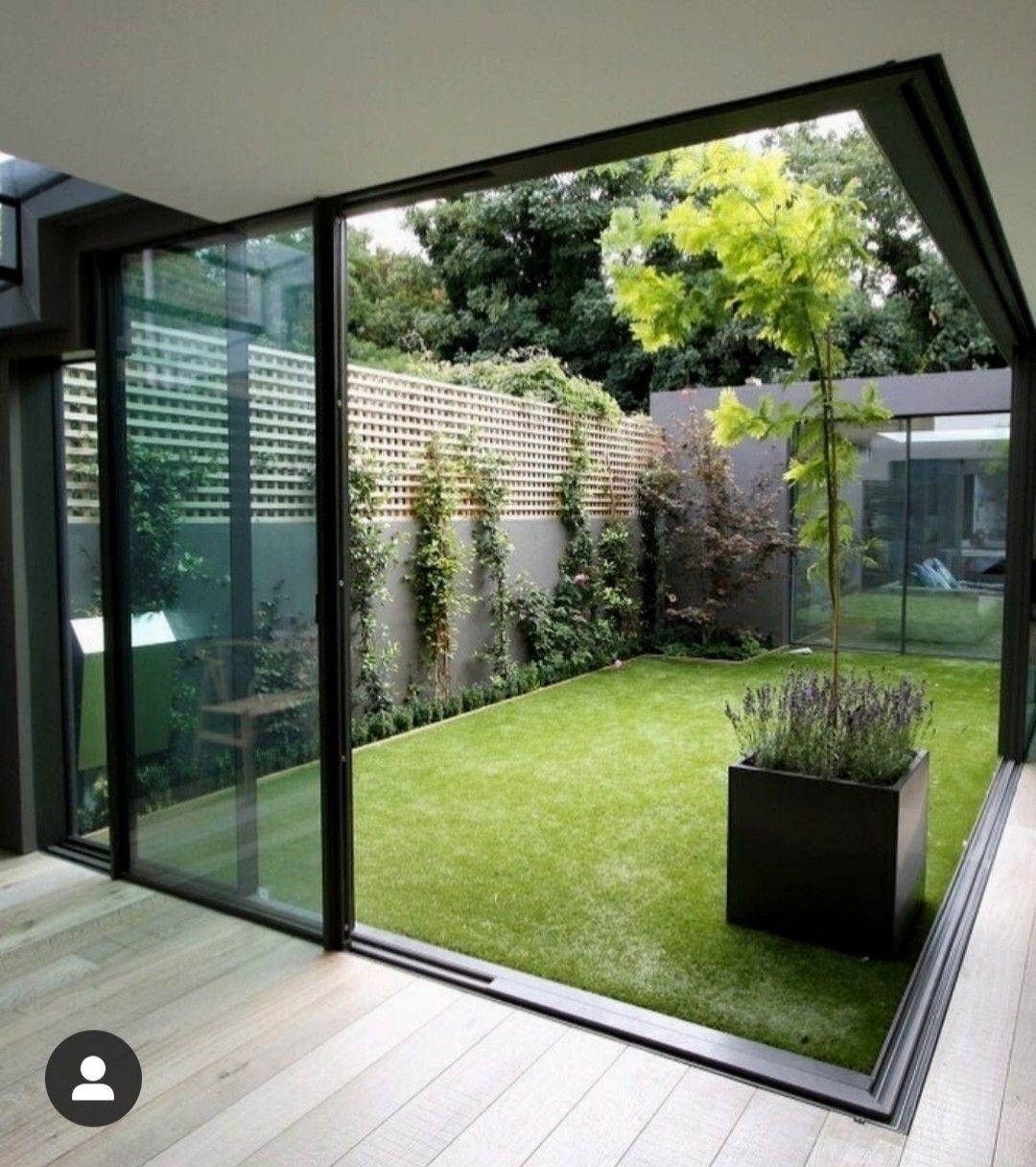 Pin Von Fidan Das Auf Interieur Wohntraume In 2020 Innengarten Indoor Garten Hauswand