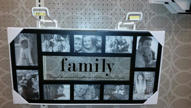 Family Through tears & laughter is a lifetime shared together frame @Target $29.99