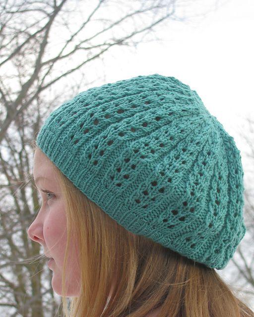Sweet Simple Lace Hat Pattern By Karen Marlatt Ravelry Patterns