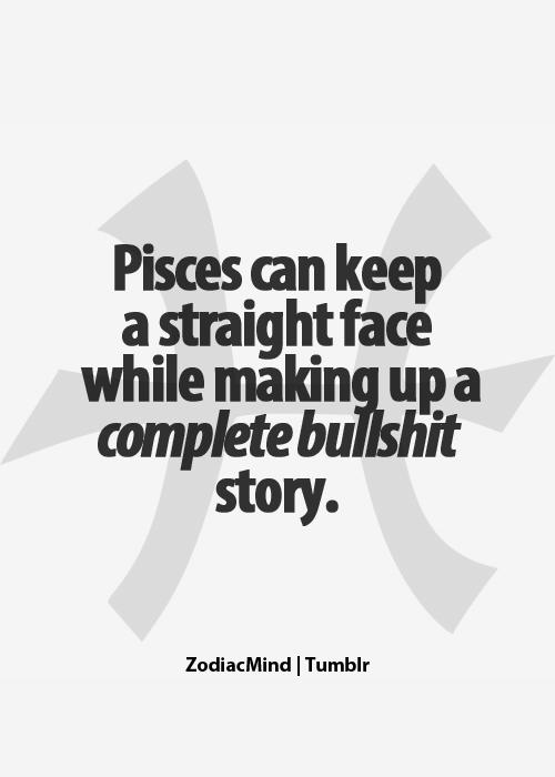 Pisces pathological liar