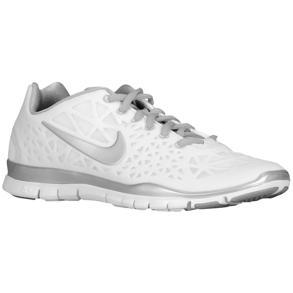 official photos 2f42b 90751 Nike Free TR Fit 3 White Metallic Silver