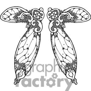 photograph relating to Free Printable Fairy Wings named Fairy-Wing-Double-3 clipart. Royalty-free of charge clipart # 380173