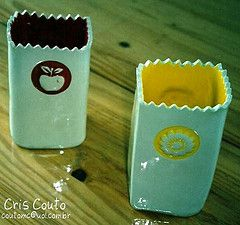 Porta colher de pau (cris couto 73) Tags: ceramica cores ceramic handmade glaze clay handpainted pottery barro atelier argila relevo funcional utilitaria tablewere