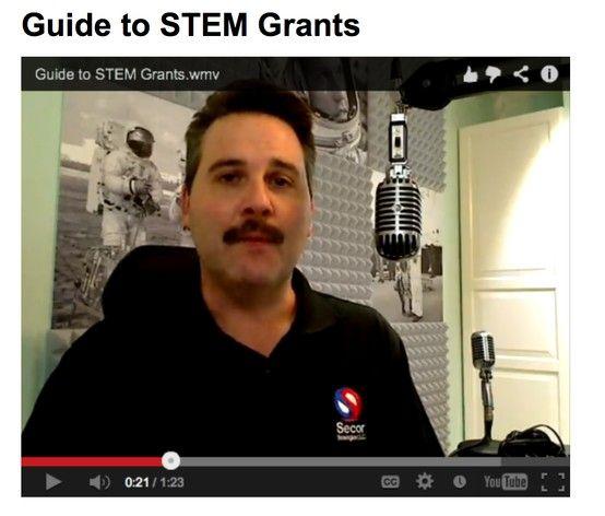 Great Website To Find $$ Grants For STEM Programs!