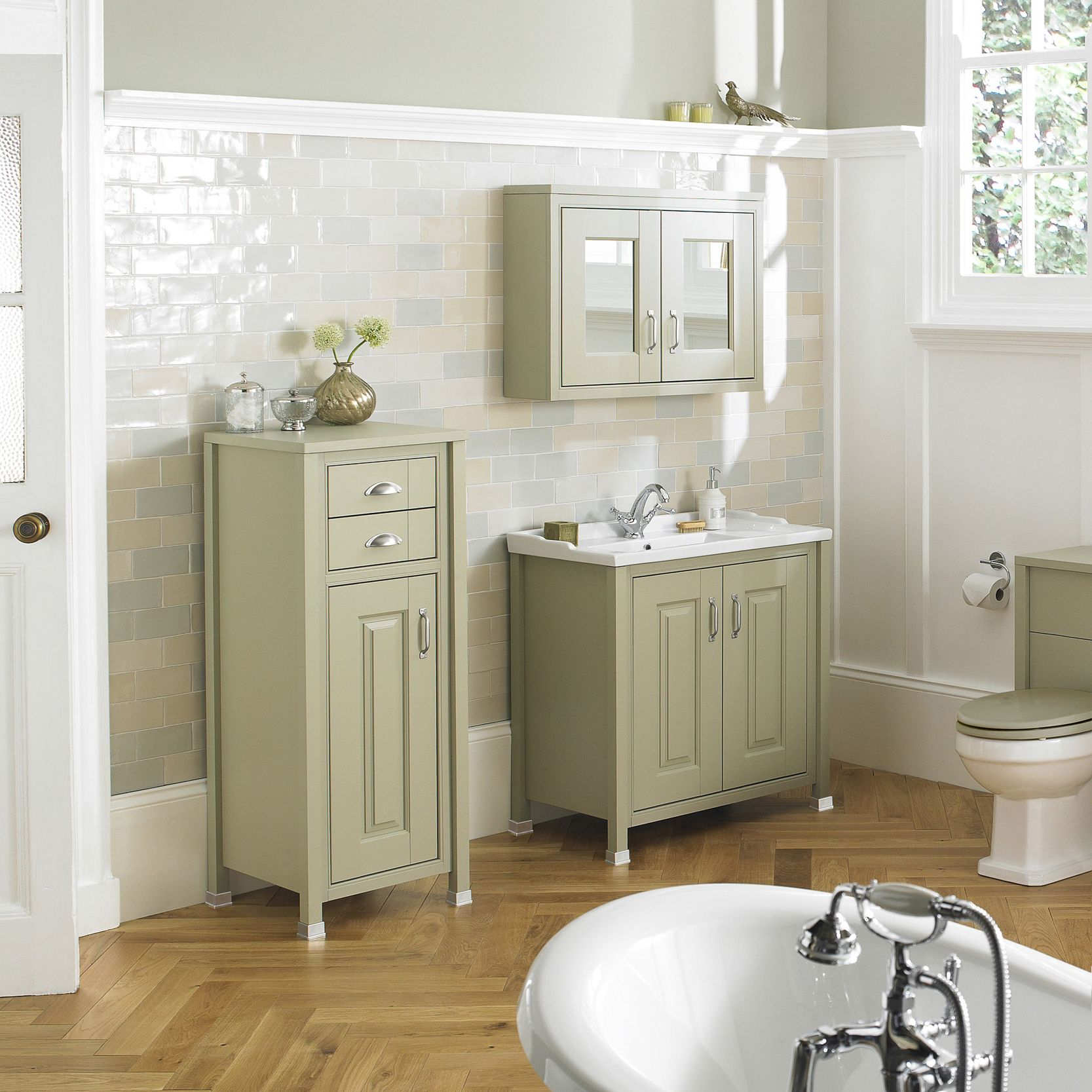 Our Old London range of traditional bathroom fixtures and furniture ...