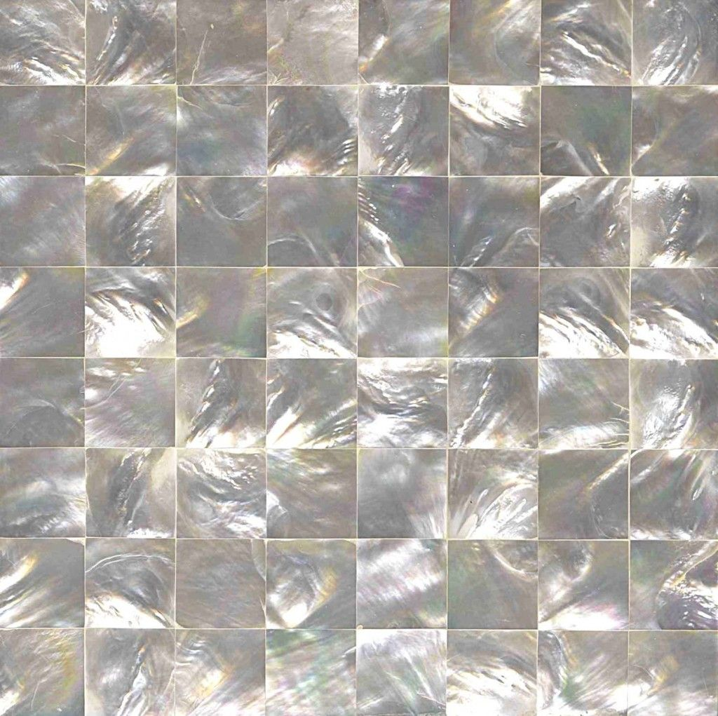 Creative Pearls Design Patterns Of Mosaic Tiles In White Color Decoration Pictures