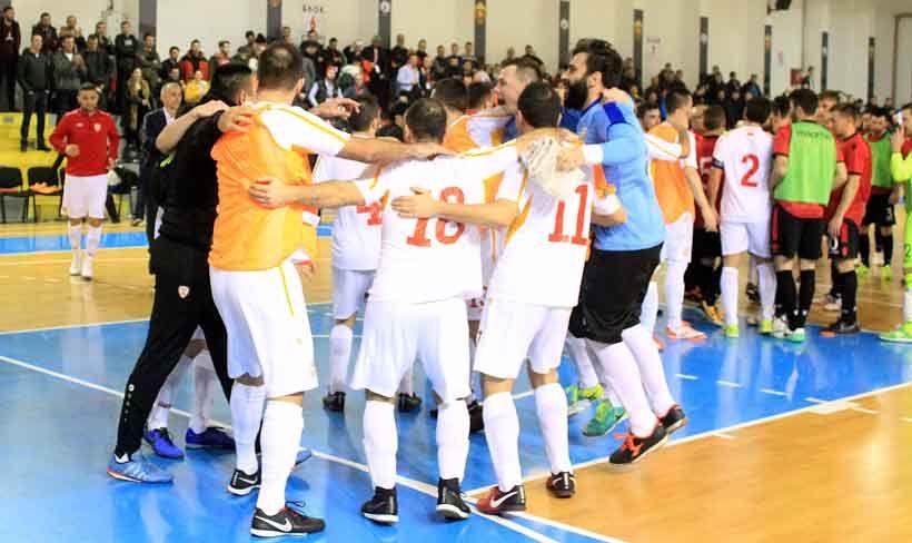 Futsal Wm Quali Gruppensieg Mazedonien Besiegt Albanien Im
