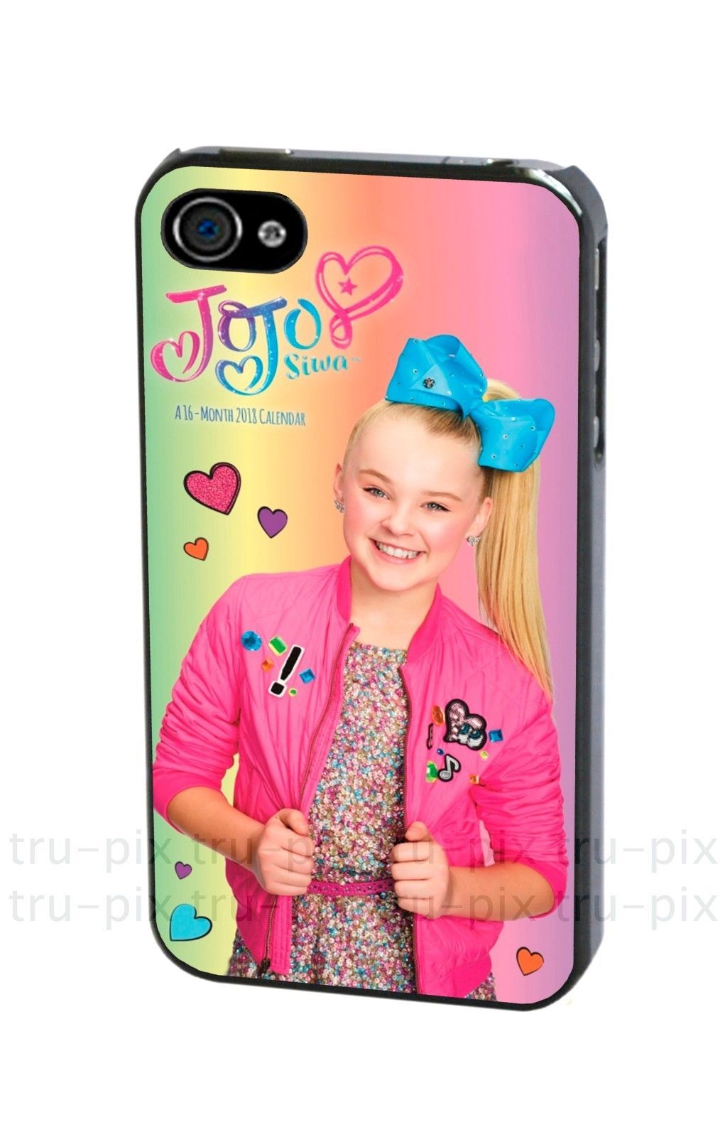 finest selection 68353 d01b6 JoJo Siwa Bow Joelle Joanie Phone Case Cover for iPhone or Samsung ...