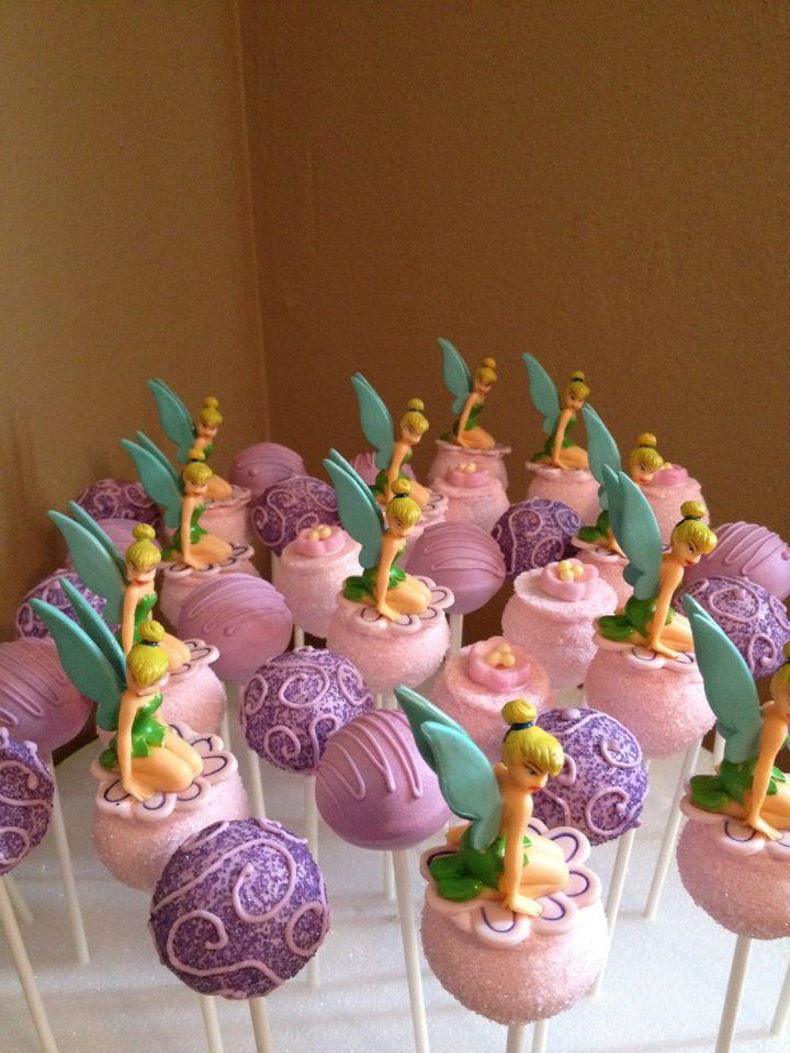 Tinkerbell Pops Cakepops In 2019 Tinkerbell Birthday