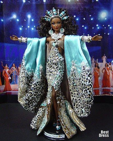 Ninimomo's Barbie. Африка. 2009/2010 » BestDress - cайт о платьях!