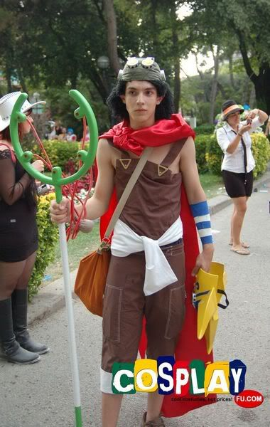 Usopp Cosplay From One Piece In Rimini Comix 2012 Italy Tagme 2013