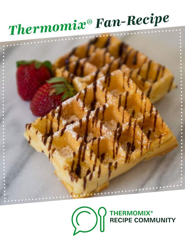 Classic Waffles by mickyh. A Thermomix ® recipe in the