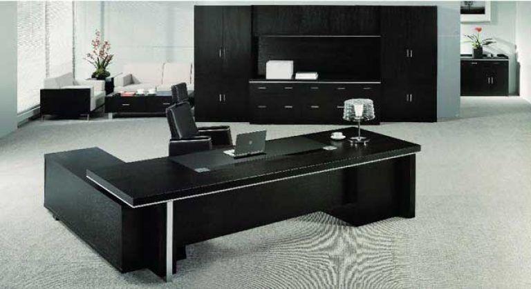 Echanting Of Executive Office Desk Modern Luxury Black Office