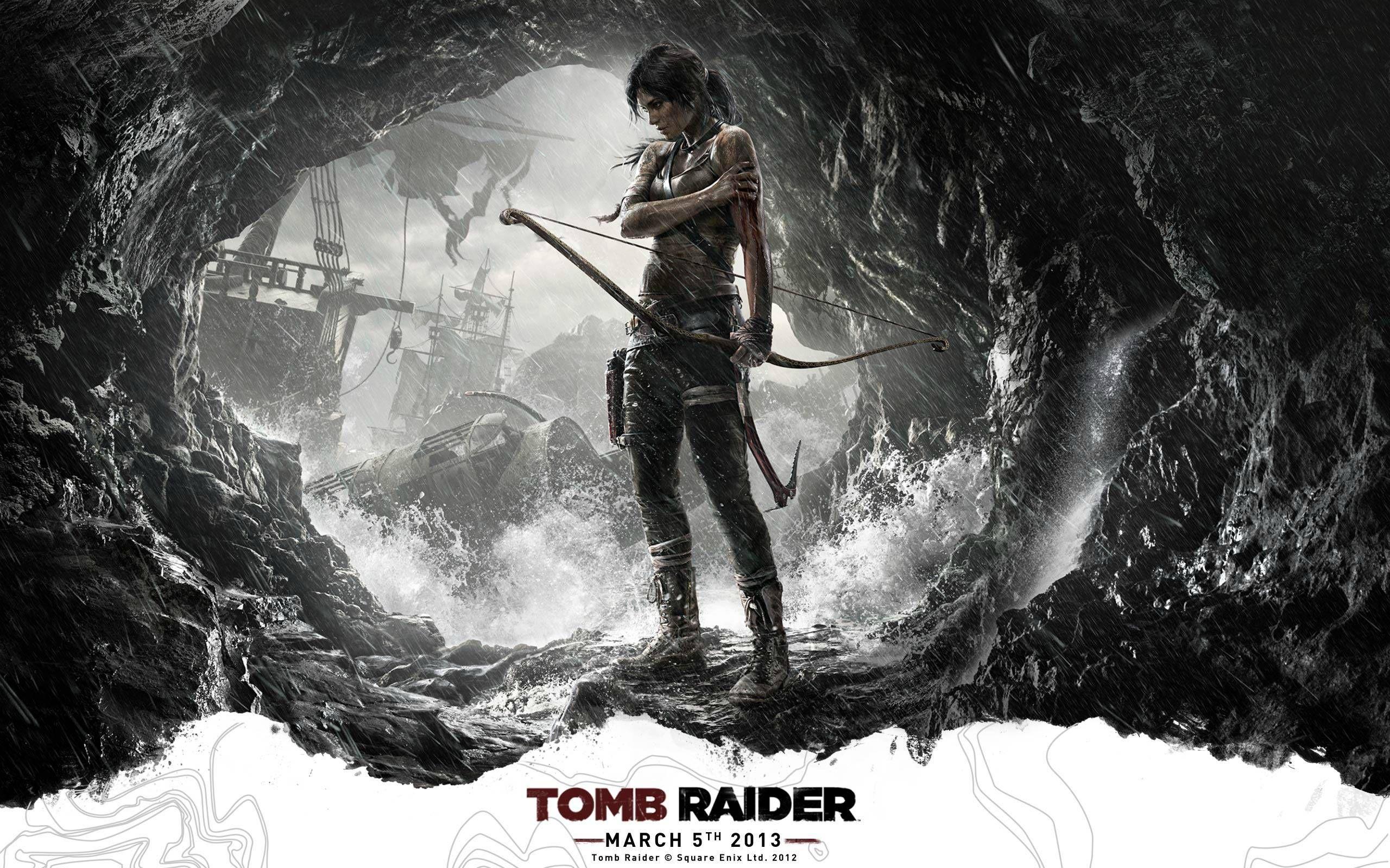 Tomb Raider Box Art Reveals A Vulnerable Yet Strong Lara Croft