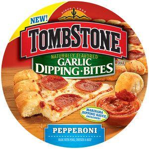 Tombstone Garlic Dipping Bites Pepperoni Pizza 27 2 Oz Stuff To