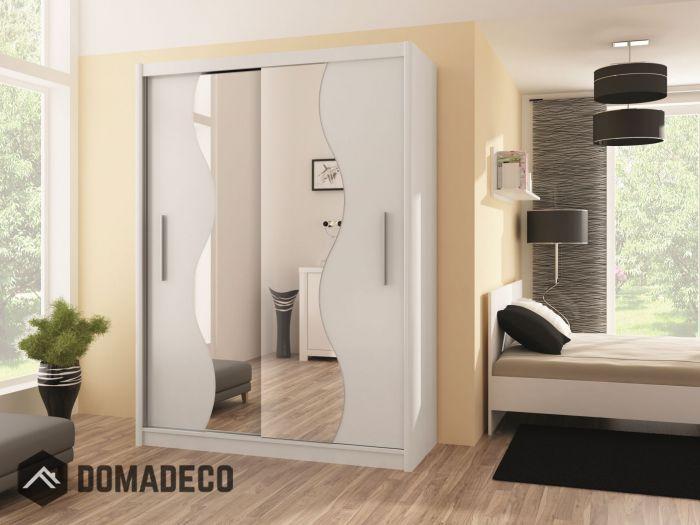 Telford V 203 - sliding wardrobe with mirror | Single door wardrobe Small wardrobe and Sliding wardrobe doors & Telford V 203 - sliding wardrobe with mirror | Single door wardrobe ...