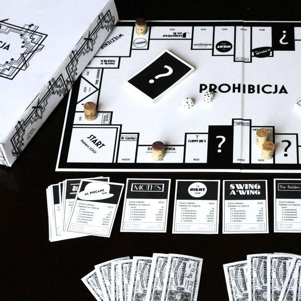 'PROHIBICJA' BOARD GAME DESIGN on Behance Board games