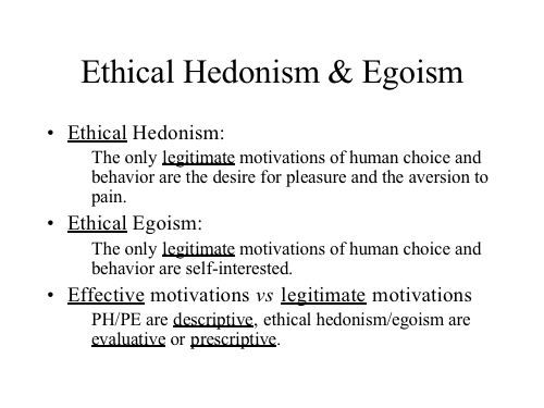 arguments against hedonism