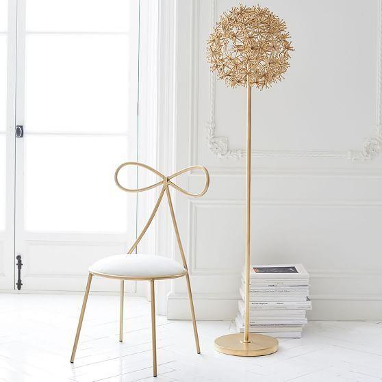 Gold wish weed floor lamp pb teen indoor floor lamps pinterest gold wish weed floor lamp pb teen aloadofball Images