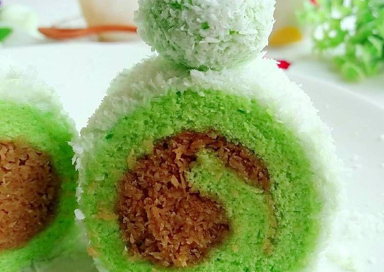 Resep Klepon Roll Cake Oleh Anik Wina Resep Makanan Manis Resep Makanan
