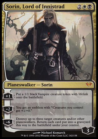 Sorin, Lord of Innistrad (Dark Ascension) | Gaming | Magic the