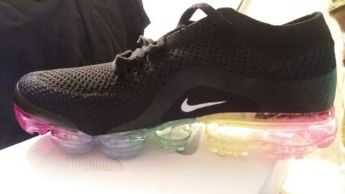 b669016493bc1 Details about Women s Nike Air Vapormax Flyknit 849557-009 Midnight ...
