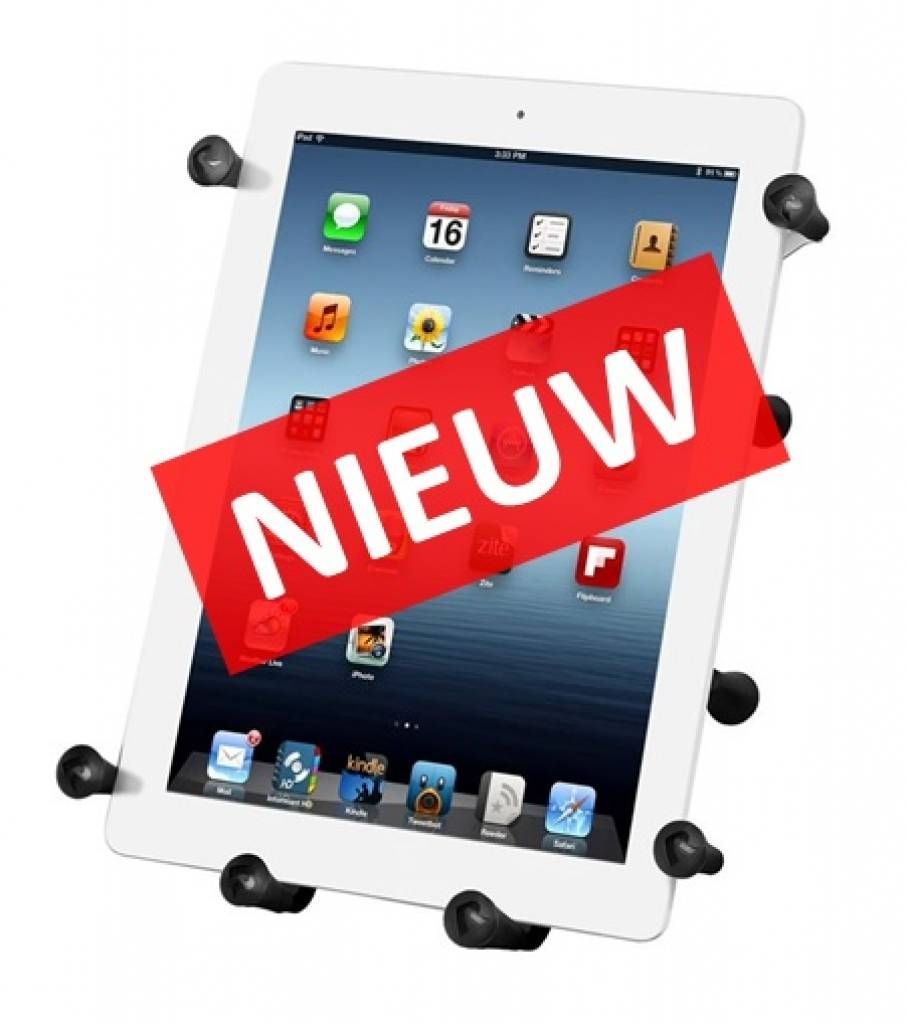 RAM Mount XGrip III™ tablet holder with mount...for when