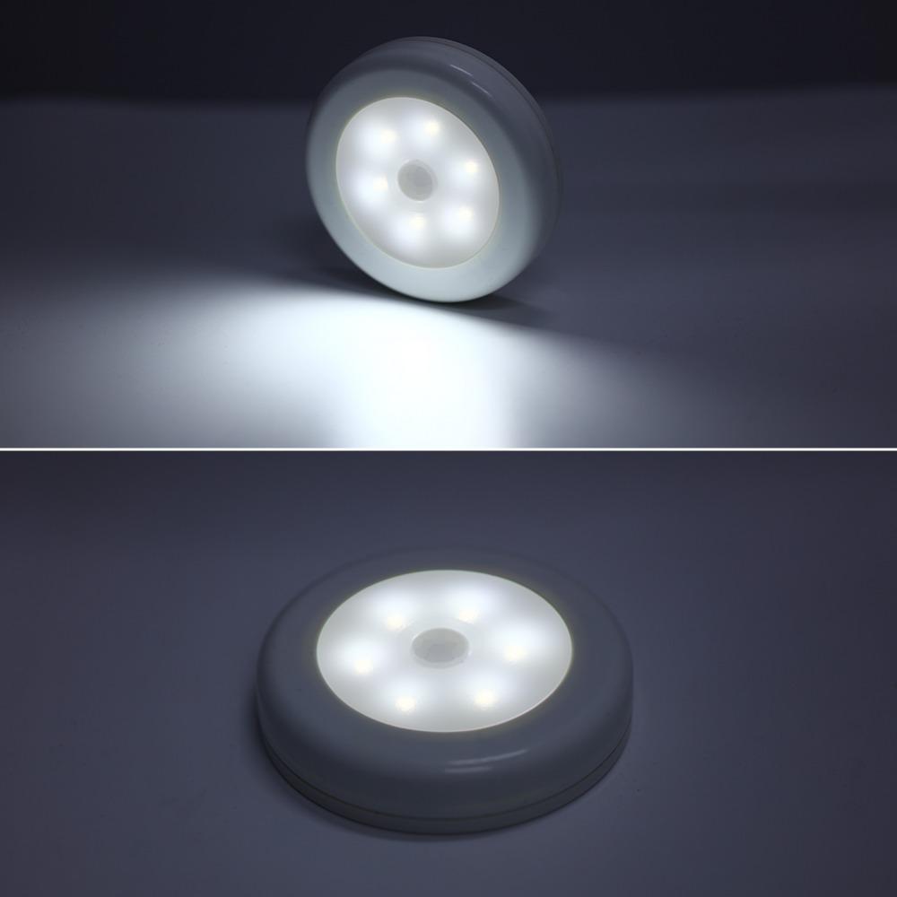 Utorch 6 Leds Motion Sensor Night Light White Warm Light Motion Sensor Lights Sensor Night Lights Light Sensor