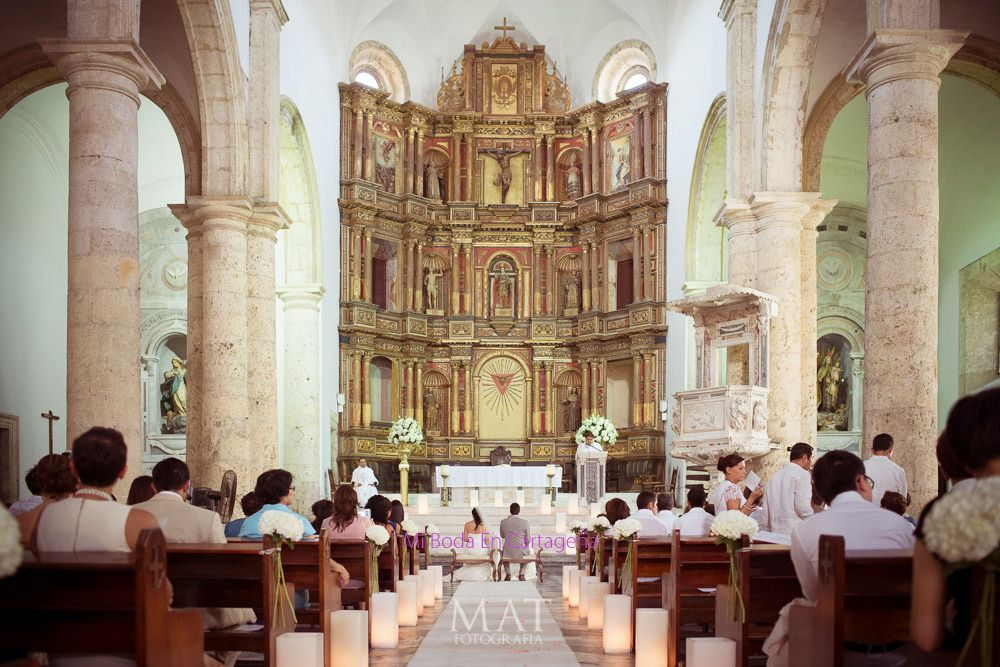 Ping For Churches With Mi Boda En Cartagena Iglesias Colombia Wedding Planner