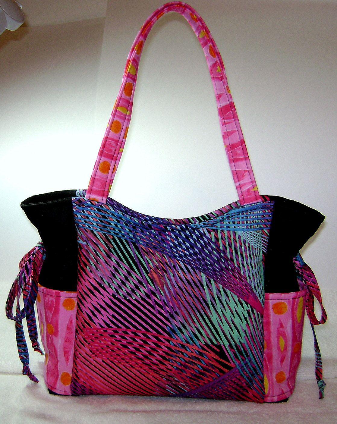Handmade Purses Purse Handbag Fabric Medium Artsy Hp2