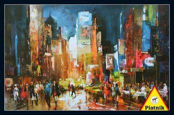 City Lights - 1000pc Jigsaw Puzzle by Piatnik