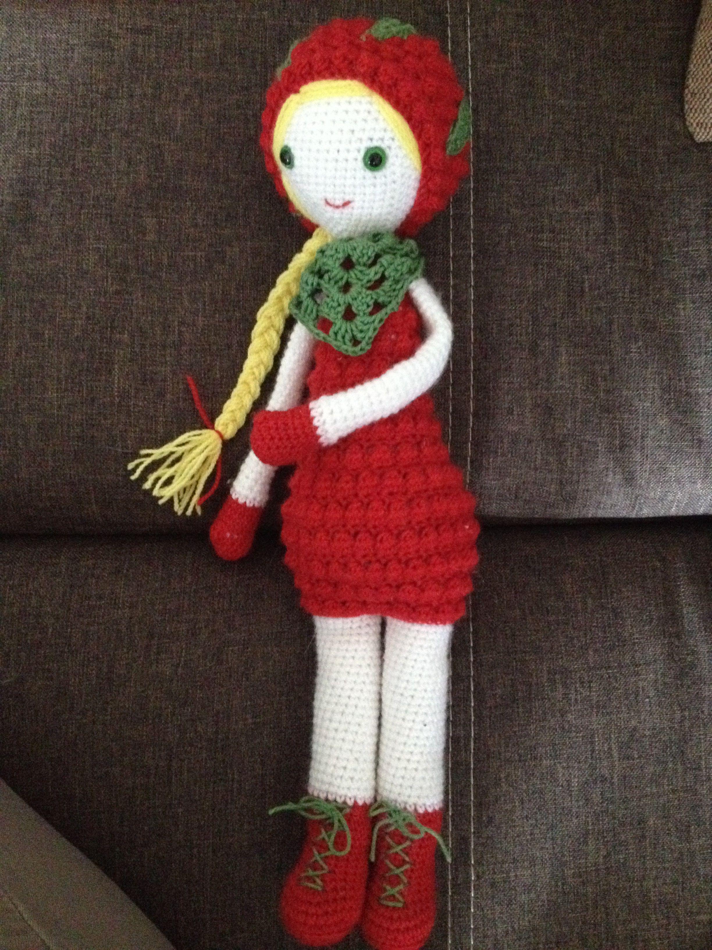 Amigurumi Doll Erdbeerchen Handmade By Maiglöckchen Handmade By