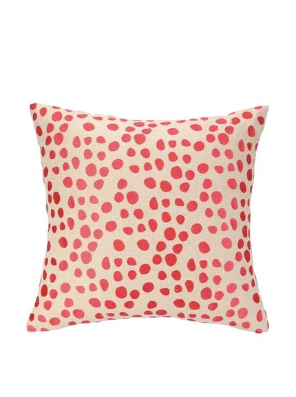 Iza Pearl Pebble Parade Pillow Pink At Myhabit Coral Pillows Throw Pillows Embroidered Pillow