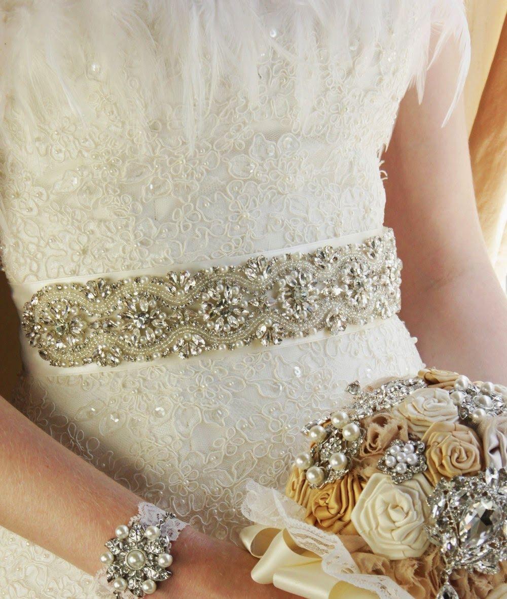 VIRTUAL NOVIA BOOK: Cinturones de pedrería para novias | Apliques de ...