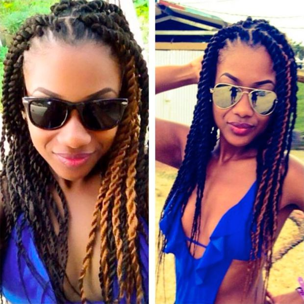 Boho Box Braids Styles