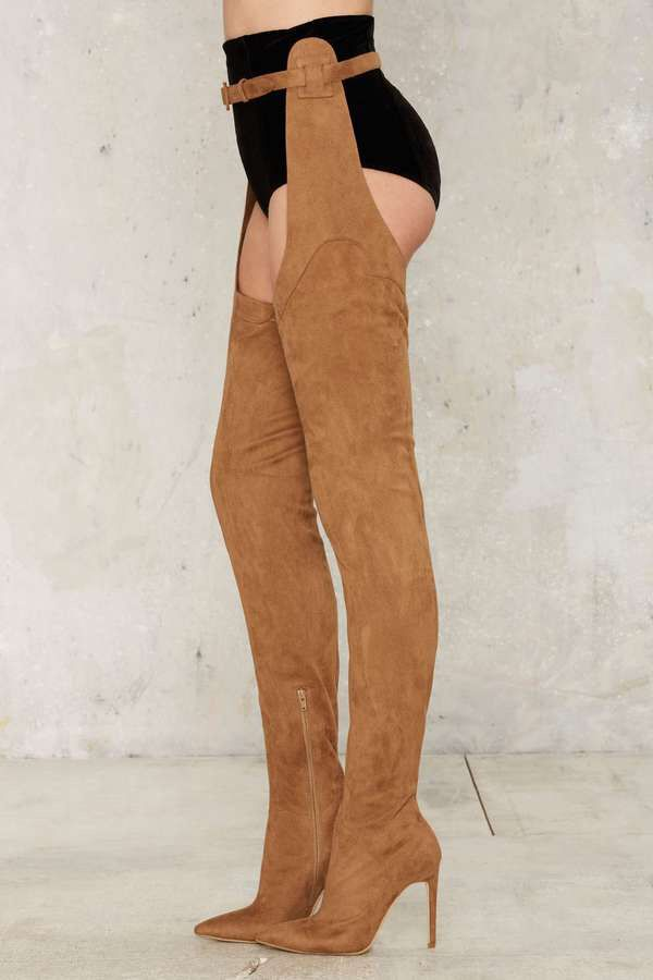 JeffreyCampbell Maven Thigh in High boats boats in Thigh 2018 f85b3e