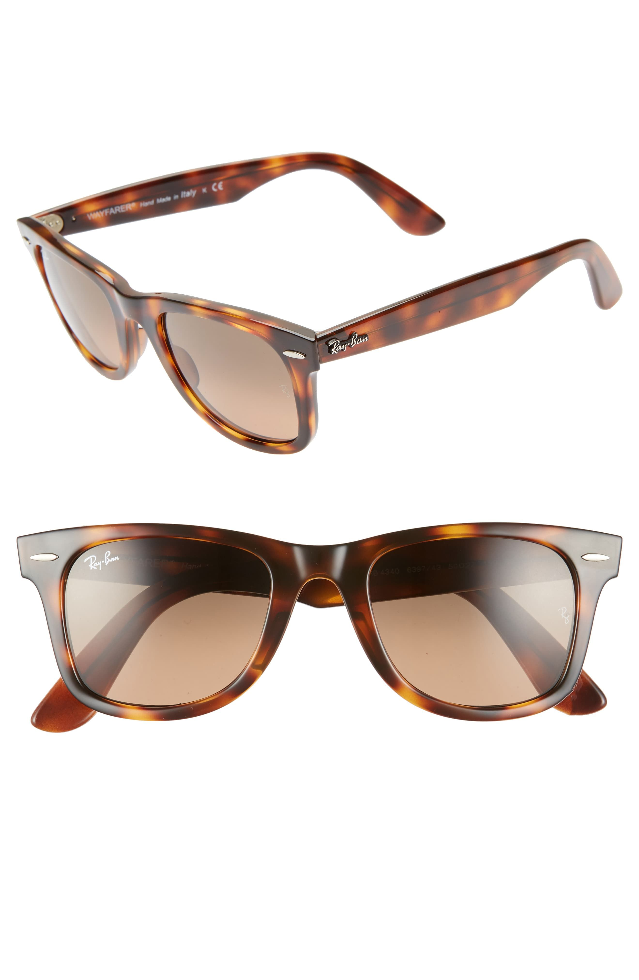 eacb706b5 Ray-Ban Wayfarer 50mm Gradient Sunglasses in 2019 | Products | Ray ...