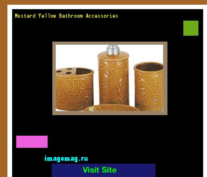 Mustard yellow bathroom accessories 120246 the best for Mustard bathroom accessories uk