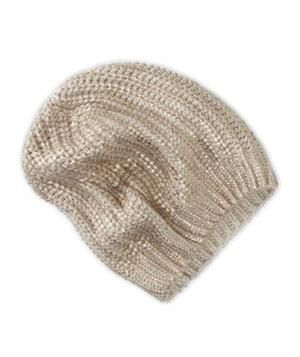 American Eagle Outfitters Metallic Knit Beanie  Cap off a casual look with  this sassy gold-flecked 90650a3e9
