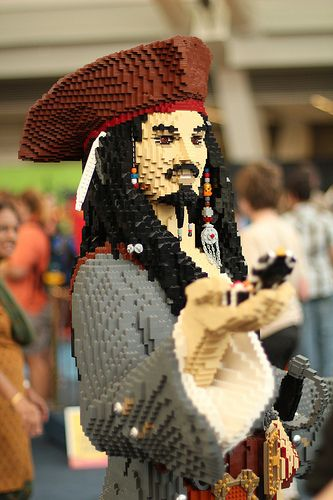 LEGO Captain Jack Sparrow