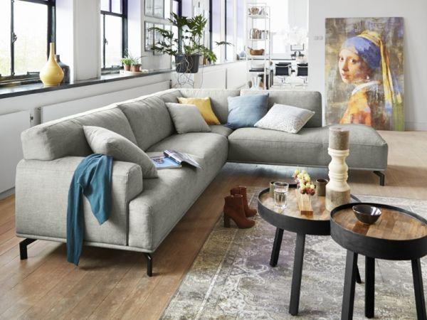 Woonkamer Met Hoekbank.Sonos Hoekbank V A 1 399 In House Woonkamer Grijs