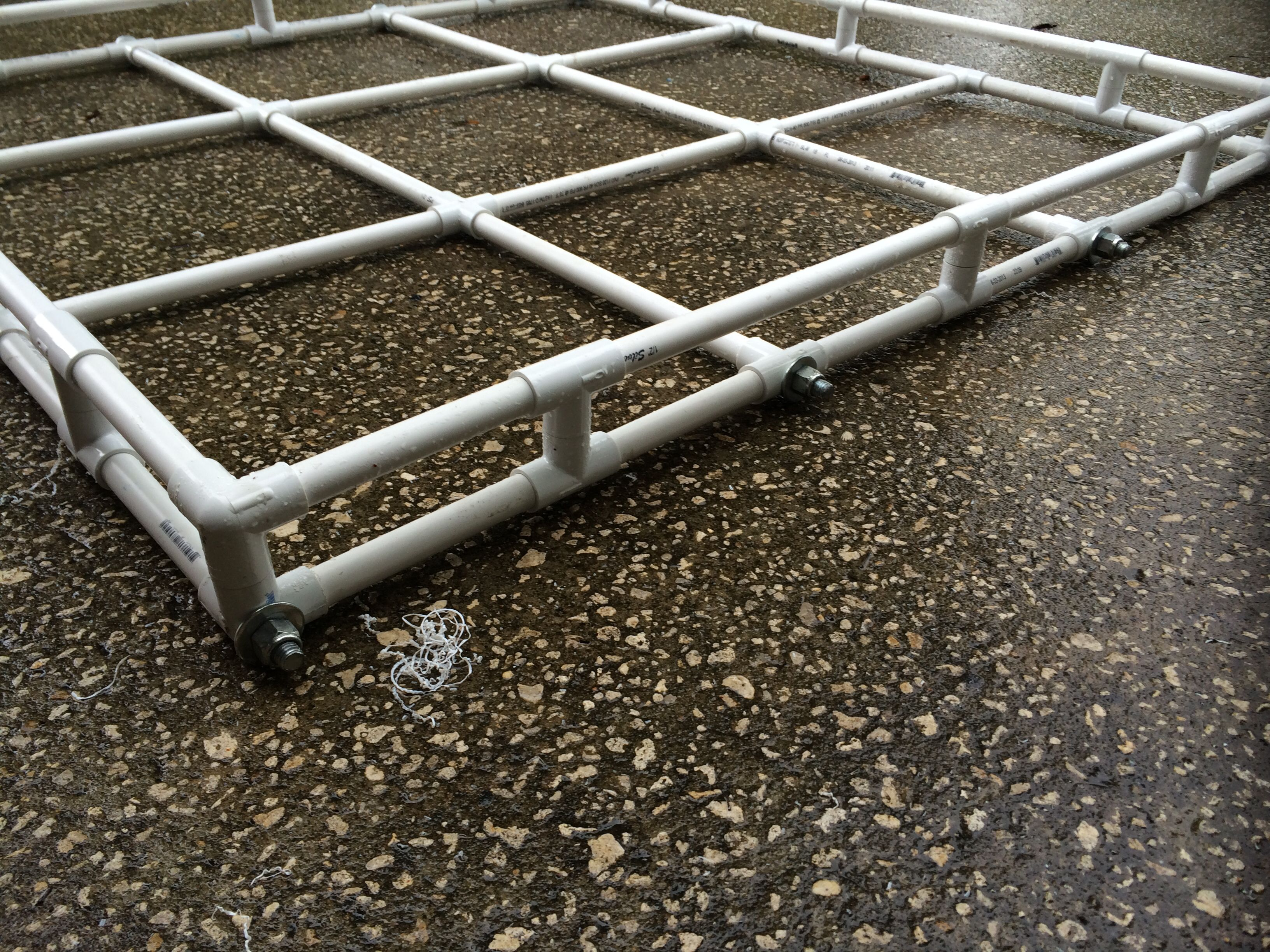 Pvc Roof Rack Sides Offroad Pvc R