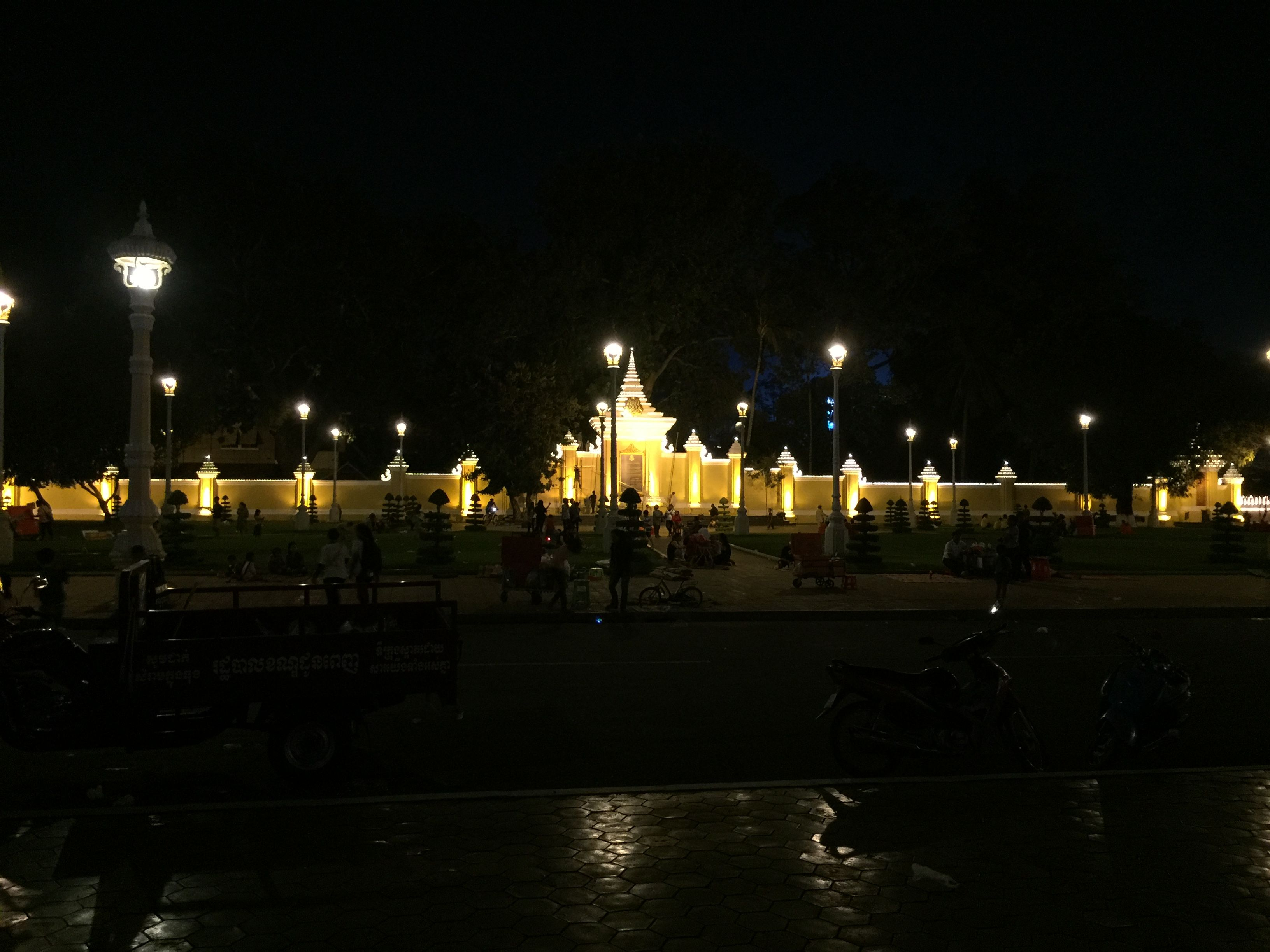Kings Palace, Phnom Penh. October 2017. (With images