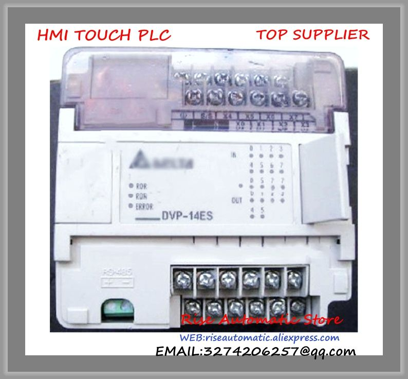 DVP14ES00R2 Delta PLC 100-240VAC 8DI 6DO relay Standard New