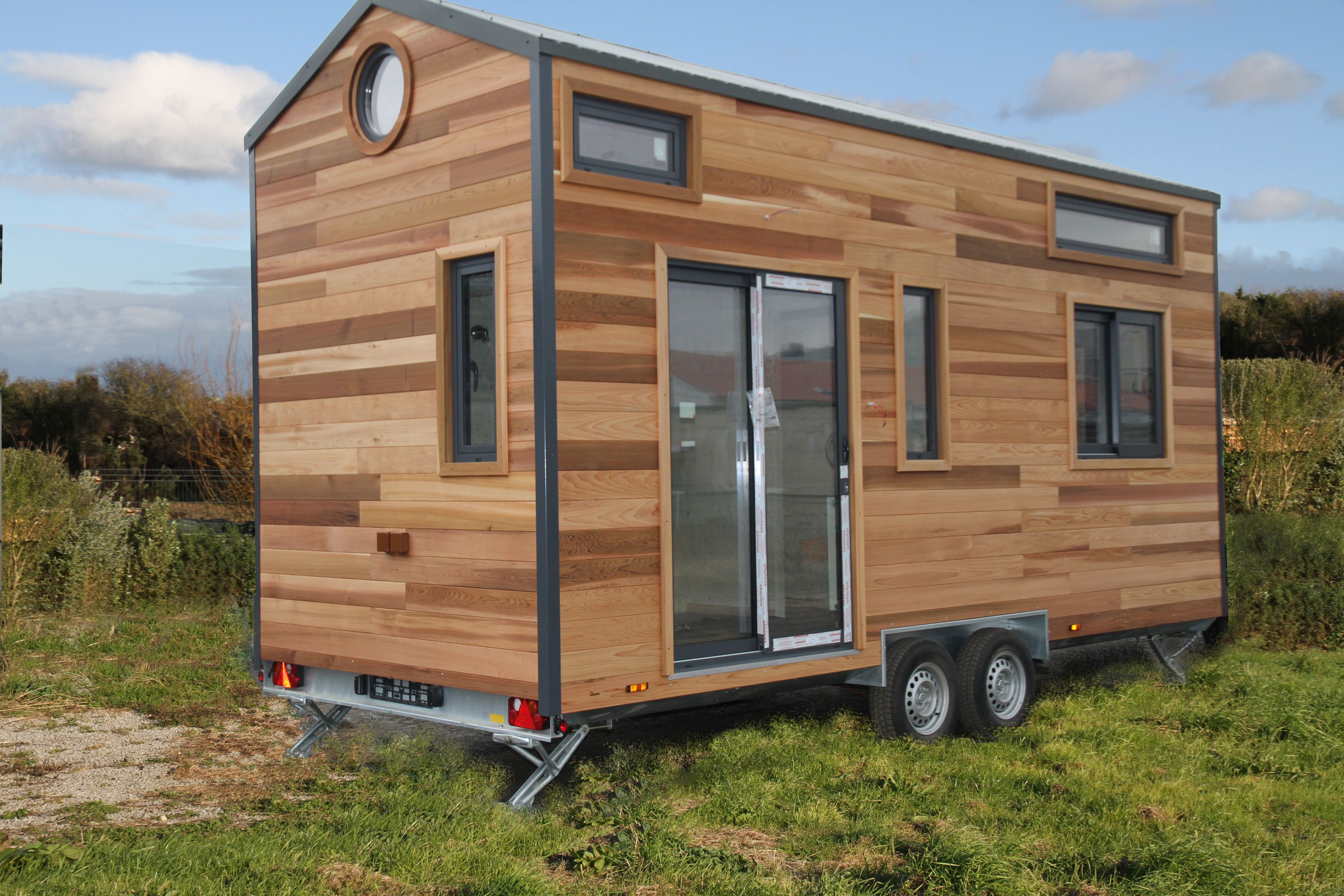 Réalisations Tiny House Quadrapol En 2019 Mini Maison